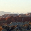 Zhangye in the sunrise